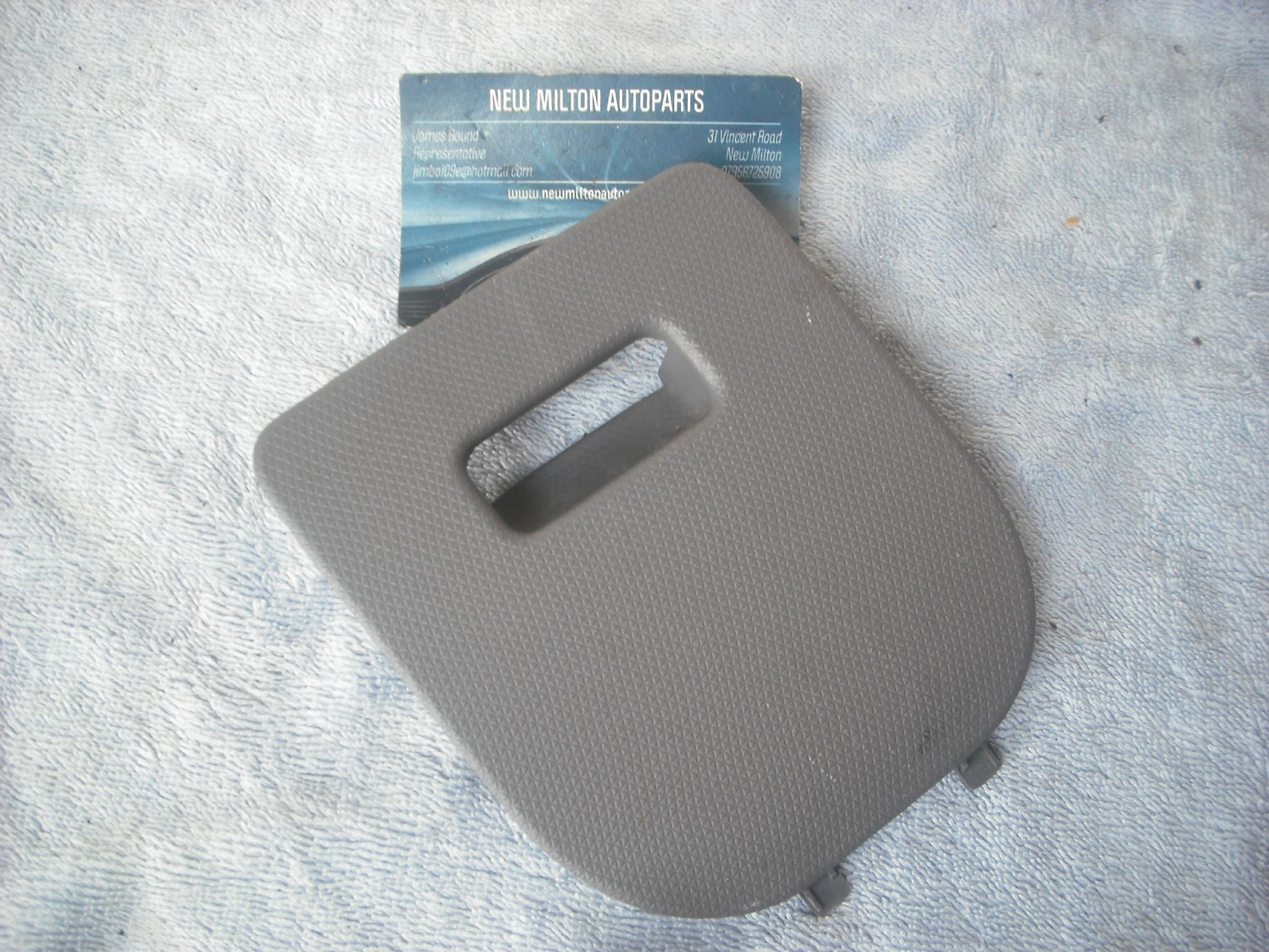 A Genuine Nissan Micra K12 2003 2007 Uk Drivers Side Dash Panel Fuse Box Cover Door Grey